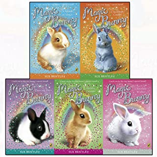 Magic Bunny Collection Sue Bentley 5 Books Set (Chocolate Wishes, Classroom Capers, Holiday Dreams, Dancing Days, A Splash of Magic)