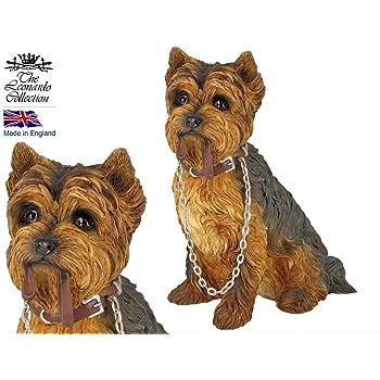Dog Studies by Leonardo Brown Tan Cairn Terrier Figurine Ornament *NEW BOXED*