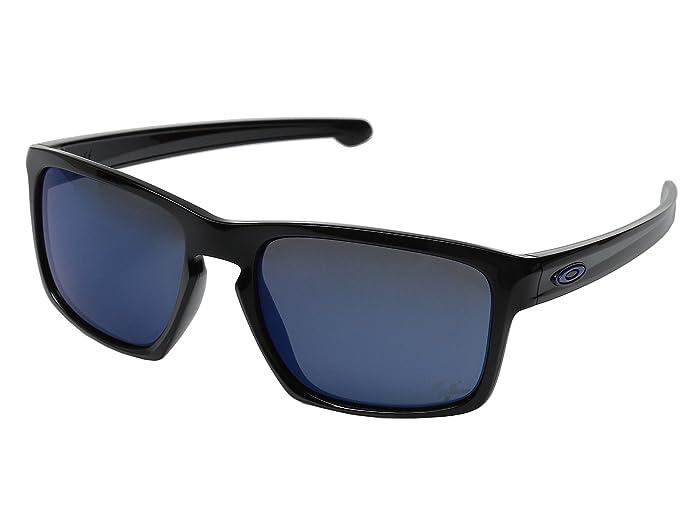 Oakley Sliver (Moto GP Polished Black/Ice Iridium) Sport Sunglasses