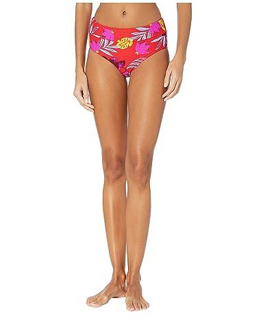 Seafolly On Vacation Wide Side Retro Bikini Bottoms (Chilli) Women