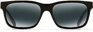 Maui Jim Sunglasses | Eh Brah 284 | Rectangular Frame, Polarized Lenses, with Patented PolarizedPlus2 Lens Technology