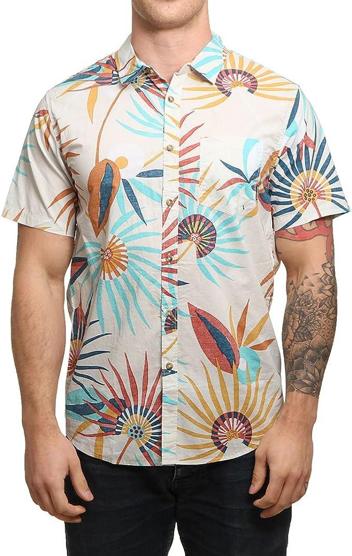 BILLABONG Sunday Floral SS Camisa, Hombre