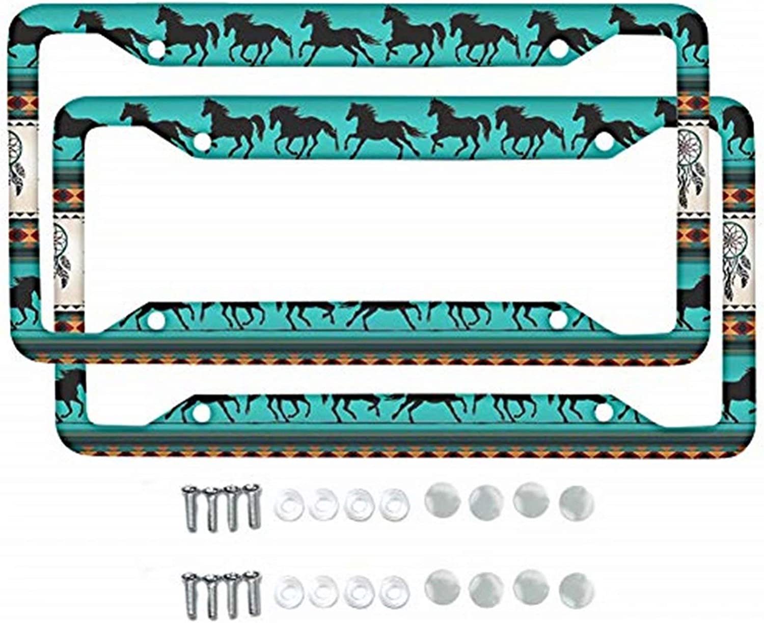 Dolyues Online limited product Genuine Automotive Metal License Plate Frame Women Men for Cover