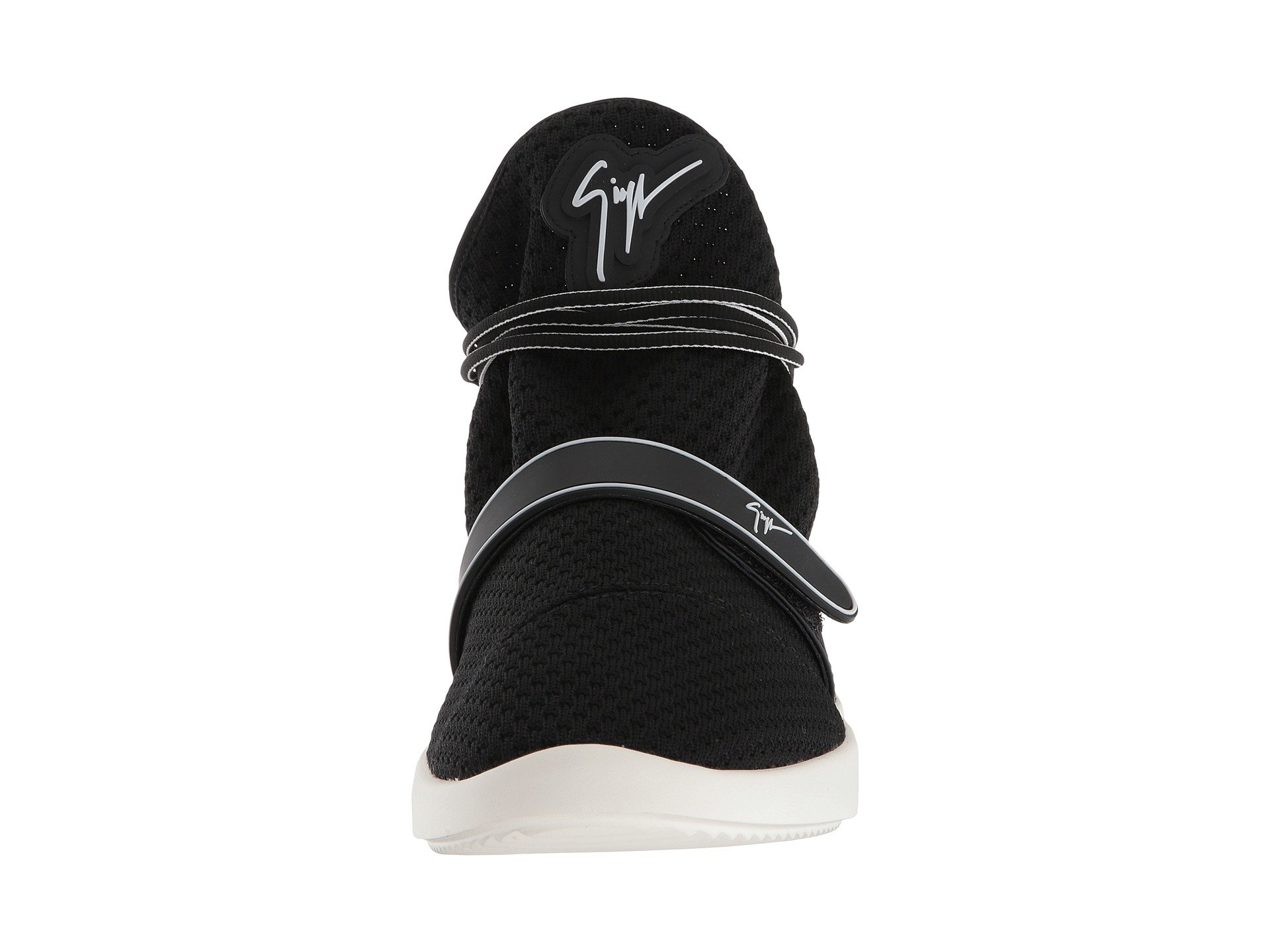 Sneaker Giuseppe Bar Zanotti Single Singles Black Mid Top 44OYCwq