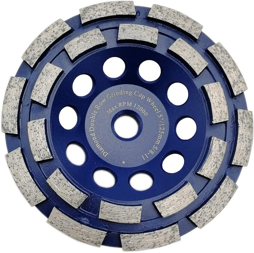 DT-DIATOOL Overseas parallel import regular item 5 Inch Double-Row Diamond Concrete for Grinding Wheel Wholesale