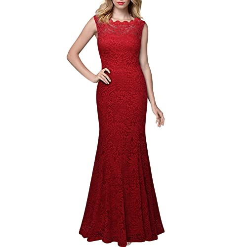 Black And Red Maxi Dress Amazon