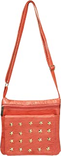 Nagera Stylish Women's & Girls' Sling Bag_Orange