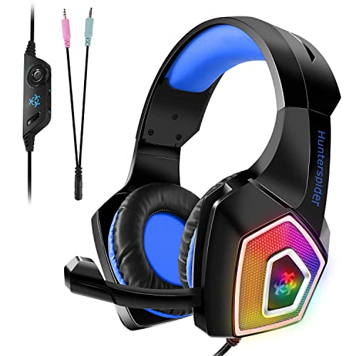 d13c5f9be80 Gaming Headset, Tenswall PS4 Gaming Headset for Xbox One, PC, Switch, Tablet