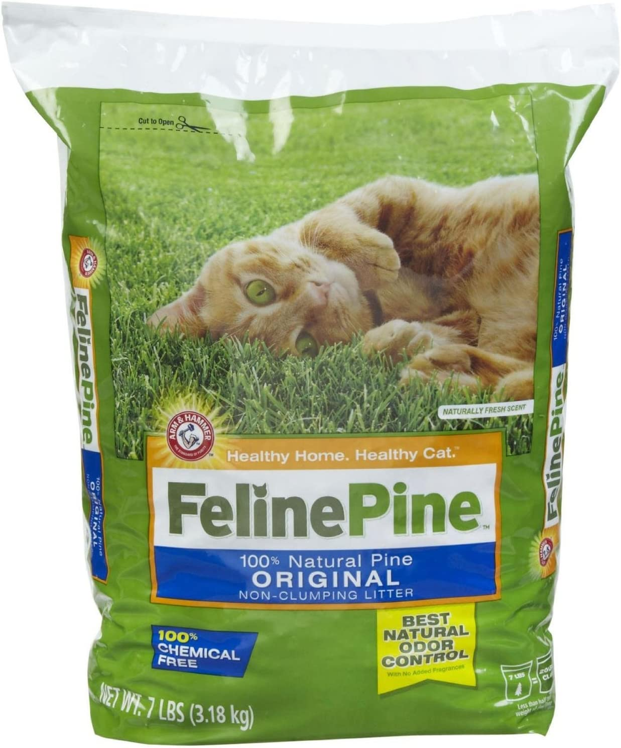 Feline Pine Original Cat Litter 7-Pound Pack Cheap super special price Daily bargain sale of Bags 2