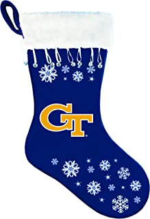 NCAA Georgia Tech Yellow Jackets Snowflake Stocking