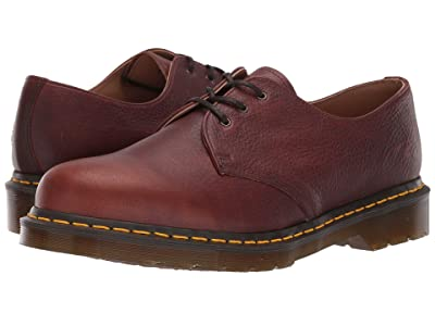 Dr. Martens Made In England 1461 Made In England (Dark Tan Abandon) Shoes