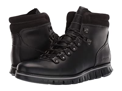 Cole Haan Zerogrand Hiker WP (Waterproof Black Leather/Black) Men
