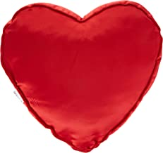iBed Home Decorative Heart Cushion 550 Grams Size 45 By 45 cm,Red