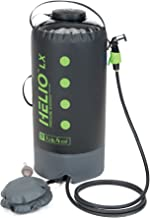 Nemo Helio Portable Pressure Shower with Foot Pump - for Camping, Backpacking, Beach Days