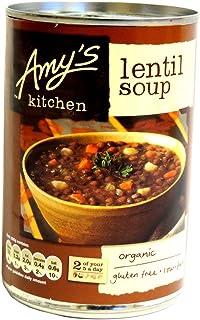 Amy's Kitchen - Lentil Soup - 400g (Case of 6)