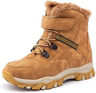 Botas de Nieve Botas de Invierno para Niños Invierno Calentar Forrada de Esqui Impermeables Boots