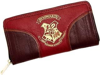 Harry Potter Gold Crest Quaffle Zipper Wallet