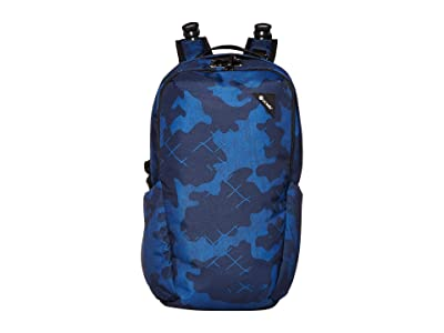 Pacsafe Vibe 25 Anti-Theft 25L Backpack (Blue Camo) Backpack Bags