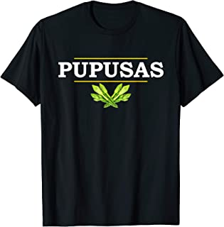 Loroco, Powered By Pupusas from El Salvador Gift T-shirt