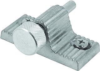 Defender Security U 9848 Sliding Door Lock, Twist-in, Aluminum Finish