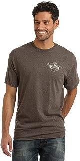 Wrangler Western T-Shirt, Brown Heather