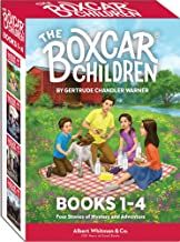 The Boxcar Children Books 1-4
