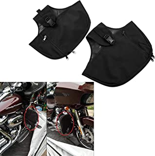YHMTIVTU Motorcycle Engine Guard Cover for Harley Touring Road King Road Street Glide 1980-later