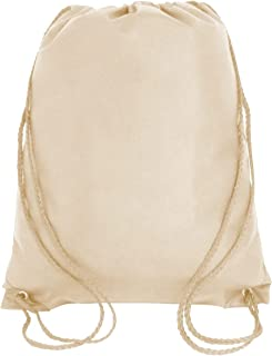6797df5f4d3b Bulk Drawstring Backpack Bags Sack Pack Cinch Tote Kids Sport Storage Bag  for Gym Traveling (