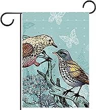 Tuin Vlag Gazon Decoraties Yard Decor Outdoor Boerderij Decor Bunting vlaggen winter vlinder vogel boom stam Dubbelzijdige...