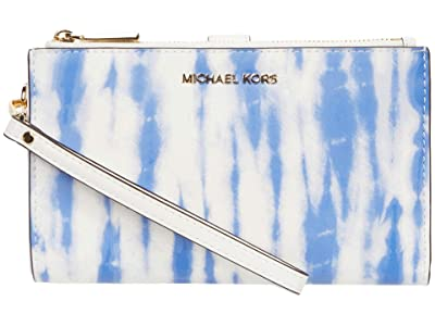MICHAEL Michael Kors Jet Set Double Zip Wristlet (Oxford) Handbags