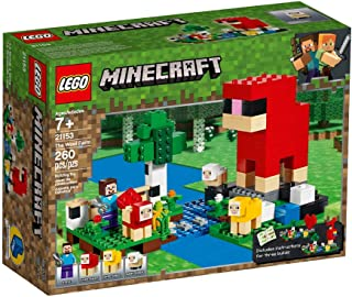 LEGO Minecraft The Wool Farm for age 7+ years old 21153