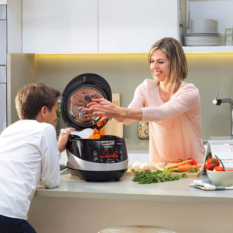 Chef Plus Induction Pro: Robot de Cocina con tecnología de inducción, menús preconfigurados y Personalizables y más de 800 Recetas exclusivas: Amazon.es