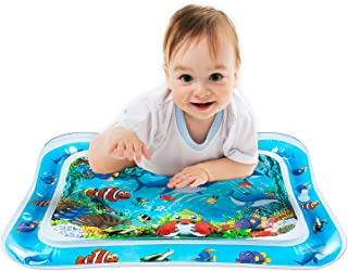 VOCH GALA Inflatable Tummy Time Water Mat, Baby Toys for...