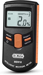 Pinless Wood Moisture Meter, Dr.meter Upgraded Inductive Pinless Tools, Intelligent..