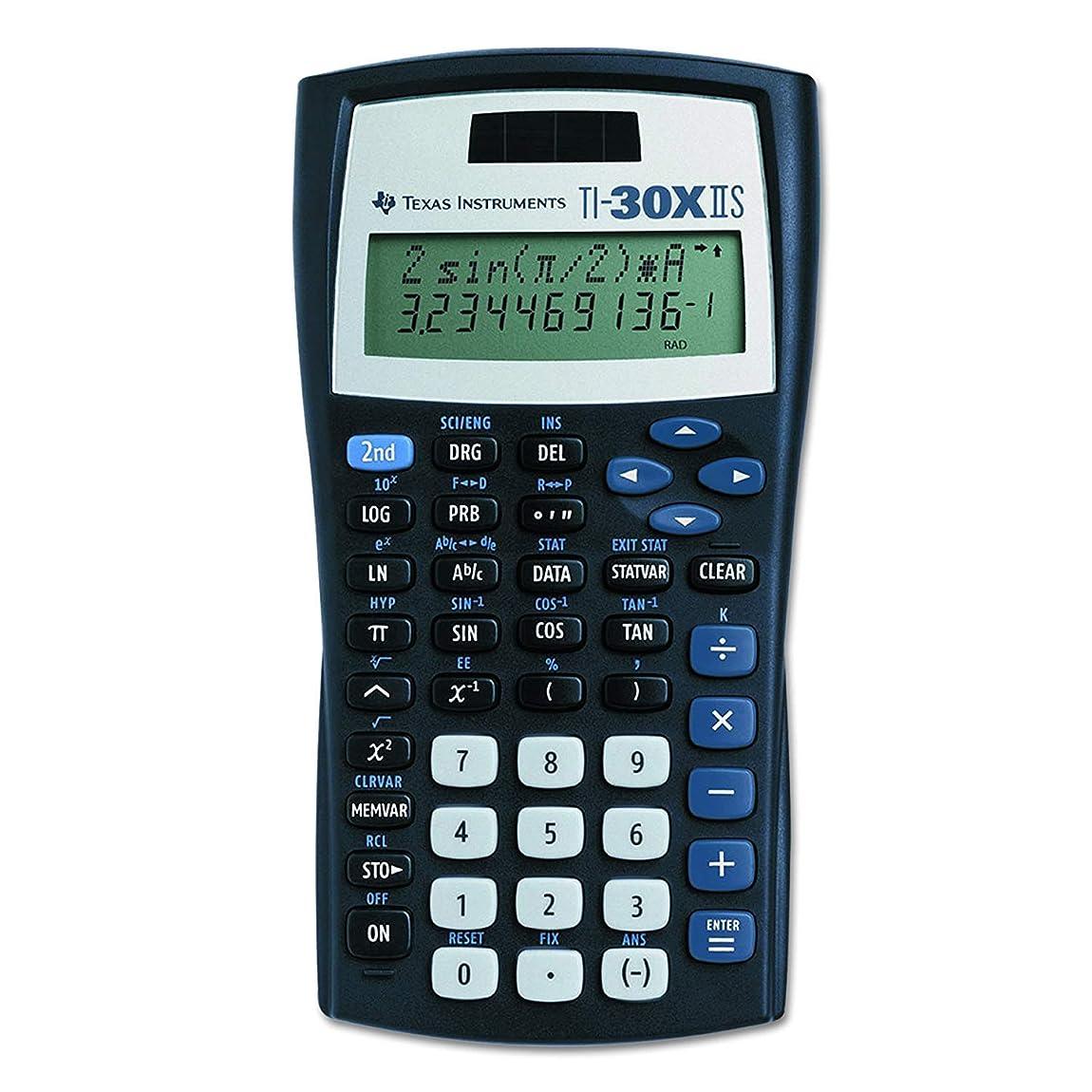 杭溶接自動Texas Instruments ti-30?X IIS複線Scientific Calculator ブラック