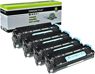 GREENCYCLE Compatible Toner Cartridges Replacement for Canon 106 0264B001AA imageClass MF6530 MF6540 MF6550 (5000 Yield per Toner) (Black,4 Pack)