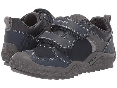 Geox Kids Jr Artach 2 (Little Kid/Big Kid) (Navy/Grey) Boys Shoes