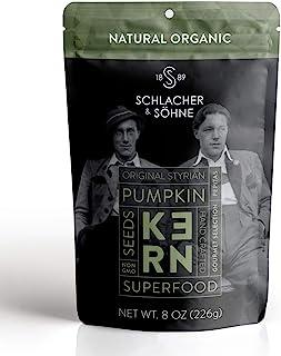 Schlacher & Söhne Styrian Pumpkin Seeds, 100% Pure & Natural, Premium Quality Pepitas, Healthy Snacks, Raw, Fresh Superfoo...