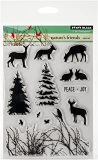 Penny Black Decorative Rubber Stamps, Nature's Friends