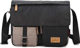 FANDARE Unisex Umhängetasche Schultertasche mit USB-Ladeanschluss Crossbody Bag für 14 Zoll Laptop Herren Damen Messenger ...