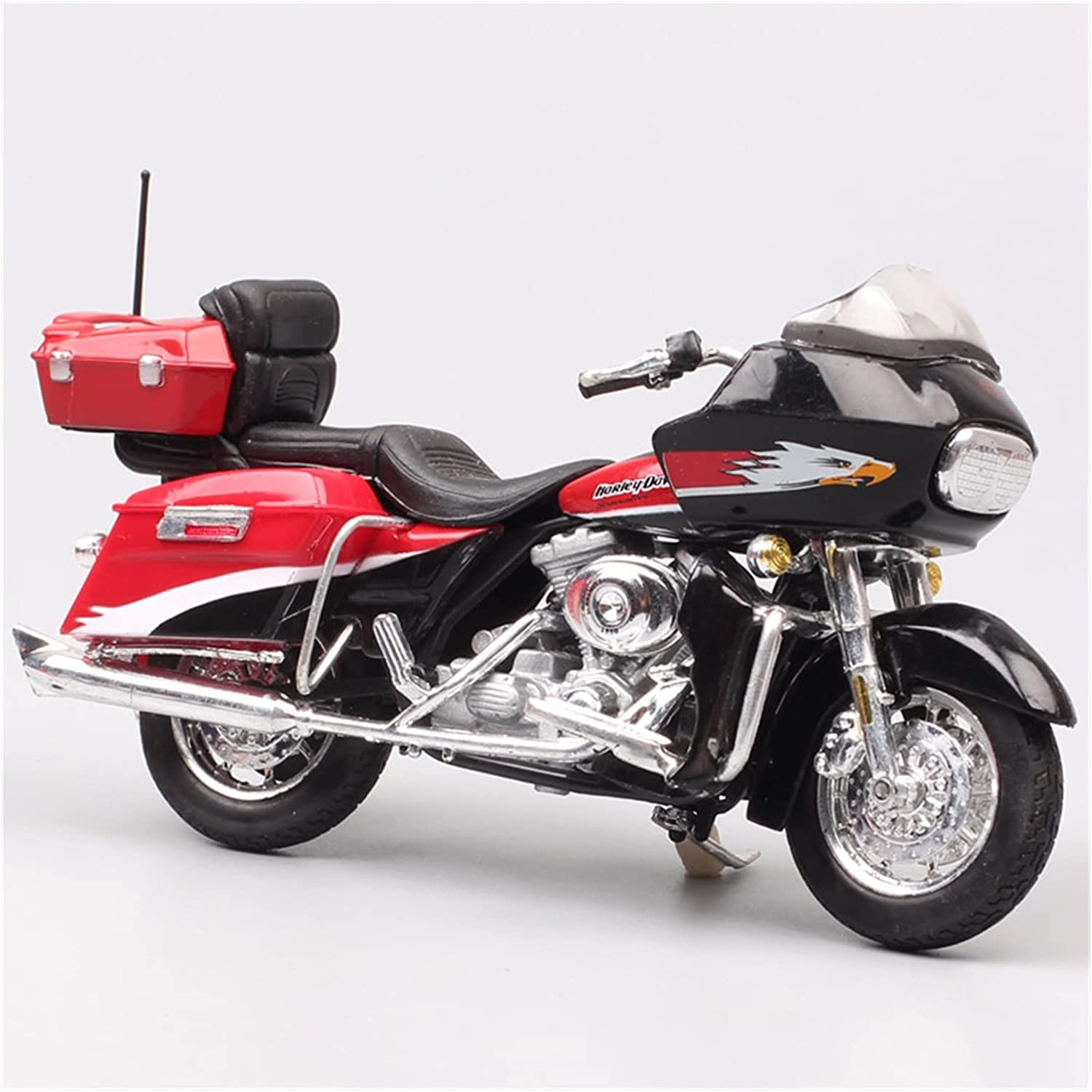 Some reservation Online limited product Motorcycle Alloy Decoration Toys 1 18 Screamin'Eagl FLTRSEI2 for