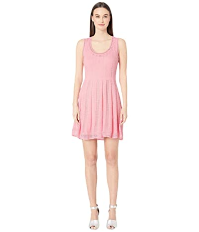 M Missoni Sleeveless Short Dress (Candy Pink) Women