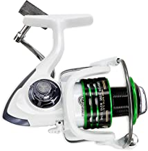 Thekuai Spinning Fishing Reel for Freshwater Saltwater 12 + 1 Ball Bearings Left Right Interchangeable Collapsible Handle 1000 to 7000 Series