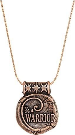 Wrinkle In Time - Be A Warrior Expandable Necklace