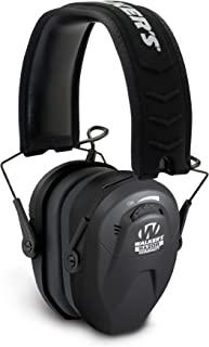 Walker's Razor Slim Compact for Youth and Women Electronic Hearing Protection Muff with Sound Amplification and Suppression. Protect It Or Lose It!