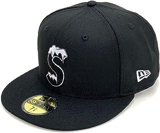 SUPREME 20FW S Logo New Era 59FIFTY Cap シュプリーム ニューエラ 59FIFTY キャップ 帽子 ブラック 黒
