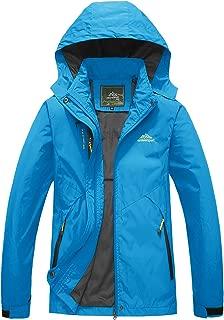 Women's Outdoor Sports Jacket Lightweight Softshell Hiking Jacket Casual Sportswear Hooded Windbreaker