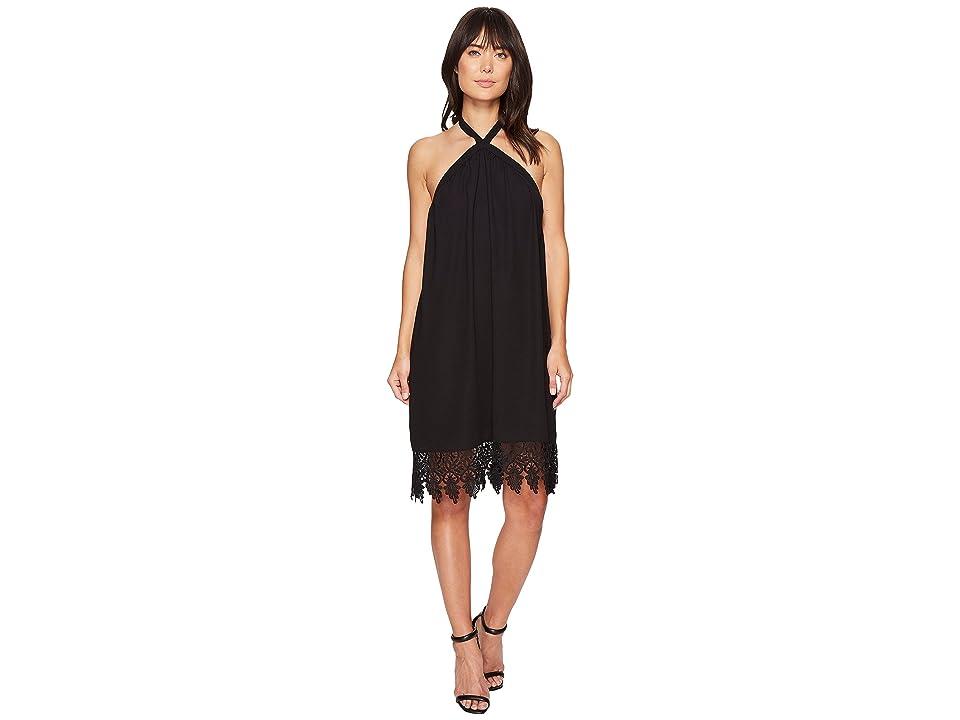 kensie Luxury Crepe Dress KS4K7818 (Black) Women