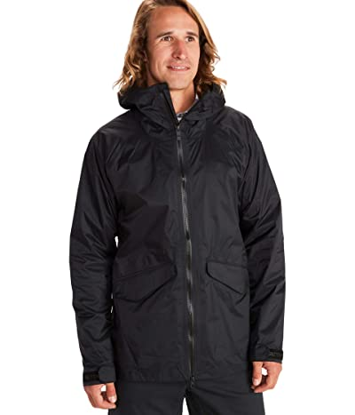Marmot Ashbury PreCip Eco Jacket (Black) Men