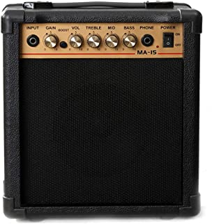 "Kunova 15W 6.5"" Speaker Electric Guitar Amp Amplifier"
